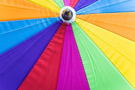 rainbow umbrella: Rainbow umbrella background