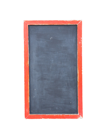 black chalk board withe clipping path photo