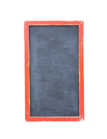 ersatz: black chalk board withe clipping path Stock Photo