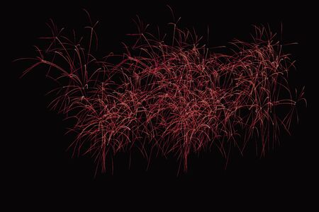 zoom in: zoom in fireworks show