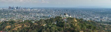 Los Angeles Panorama, Hollywood Hills, California (USA)