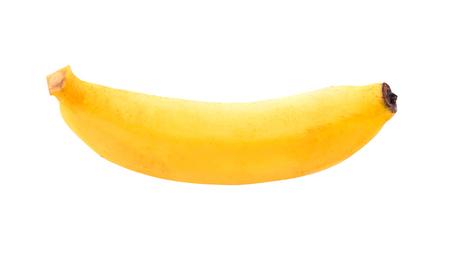 Banana isolated on white background Фото со стока