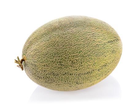 Tibetische Melone isoliert auf weißem Hintergrund.