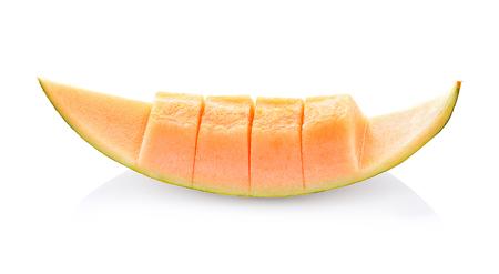 Tibetan melon on a white background Фото со стока