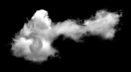 White clouds on black background. Фото со стока