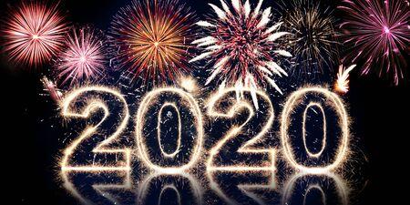 beau concept design pour le festival du nouvel an