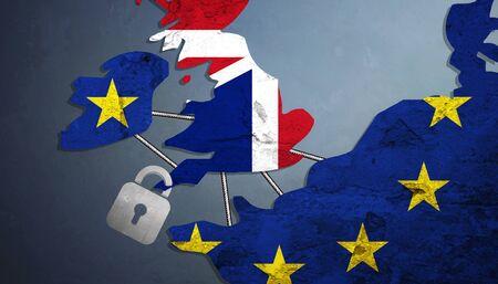 Vote for United Kingdom exit concept