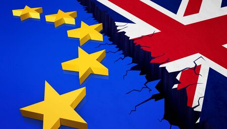 Stem op exit-concept Verenigd Koninkrijk