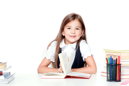 Back to school! Concept of education, reading and learning. Foto de archivo
