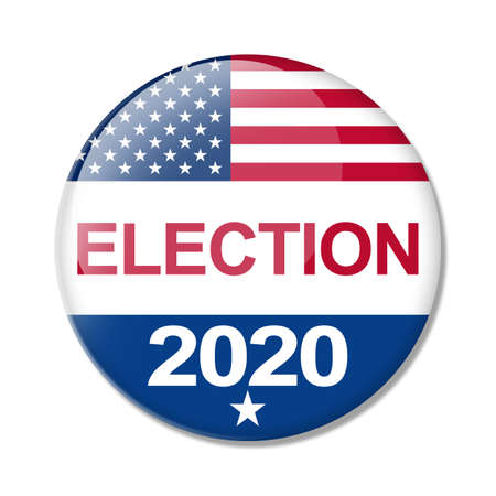 Election Day in United States 2020 Concept Stock Photo