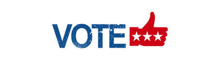 Elections and debates. Every vote matters concept Stock Photo