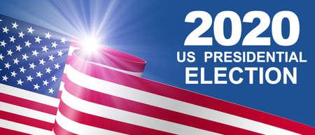 Election Day in United States 2020 Concept Zdjęcie Seryjne