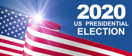 Election Day in United States 2020 Concept 免版税图像