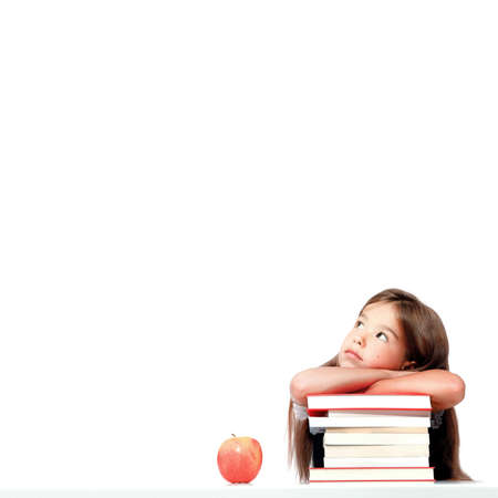 Back to school. Concept of education, reading and learning. 版權商用圖片