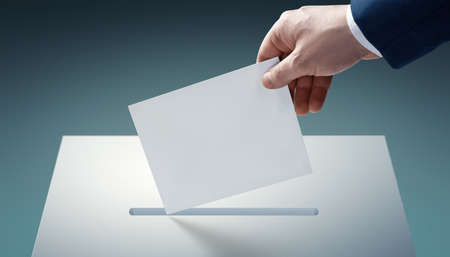 Voting and election concept. Making the right decision Фото со стока