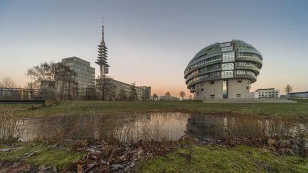 neuroscience: HANNOVER, GERMANY - DECEMBER 28, 2014: The International Neuroscience Institute INI in Hannover Editorial