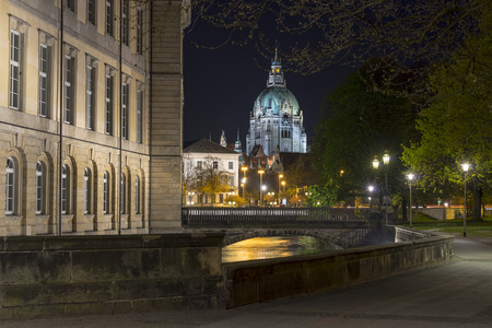 townhall: Leineschloss in Hannover, Germany Stock Photo