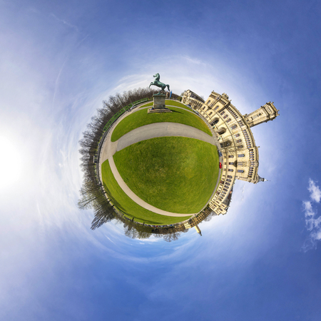 University of Hannover. 360 degree panorama