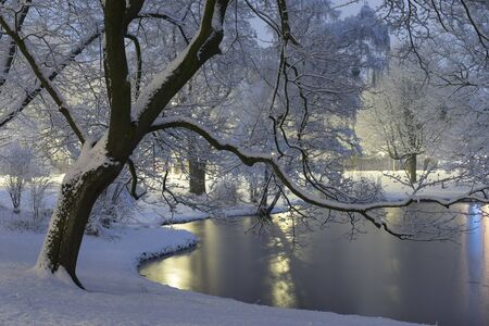 Winter in Hanover, Lower Saxony Germany