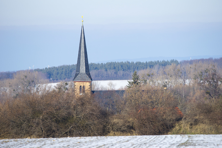 Old church in Saxony-Anhalt, Germany