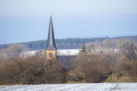 Old church in Saxony-Anhalt, Germany