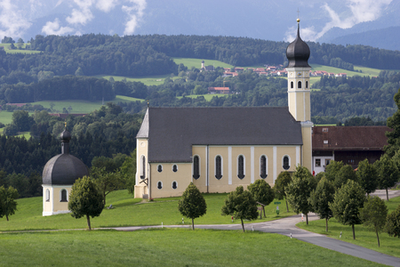 Old church in Bavaria. Germany