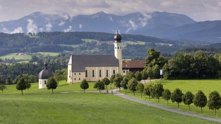 Old church in Bavaria. Germany