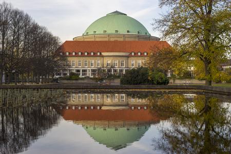 Hannover, Germany - November 04, 2016: Hannover Congress Centrum HCC Lower Saxony