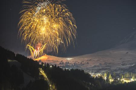 Alpine ski resort Serfaus Fiss Ladis in Austria. Tyrol.