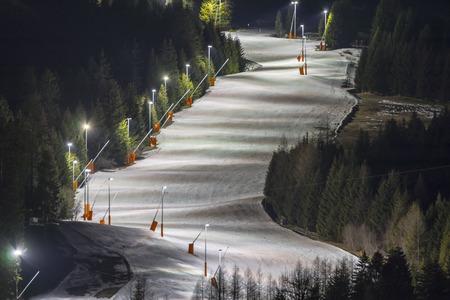 Alpine ski resort Serfaus Fiss Ladis in Austria. Tyrol. Stok Fotoğraf - 92518955