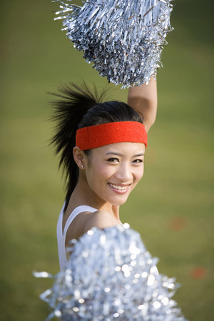 black cheerleader: A Girl Rooter