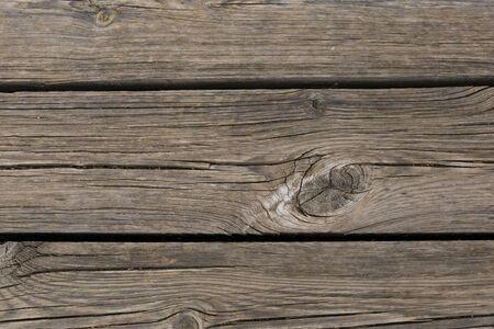 Horizontal slats, wood texture Imagens