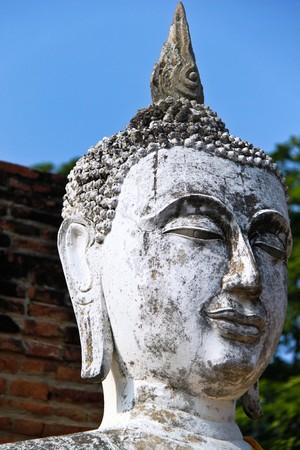 Buddha image in Ayuthaya,Thailand