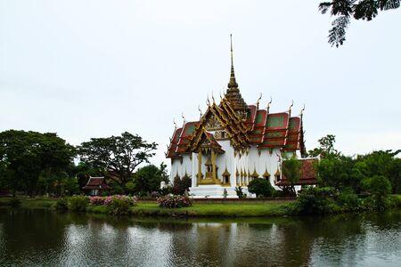 Church in ancient city Thailand.