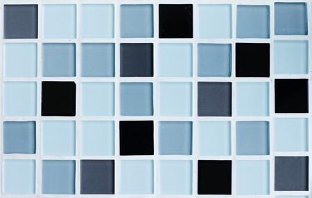 Blue tone mosaic