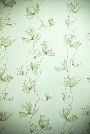 wall paper design as flower pattern Stock Photo - 8172577