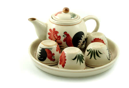 chinese tea pod which made from ceramic