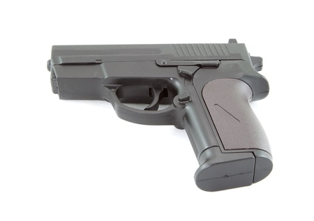 use pistol: toy pistol that use air pressure system to shoot