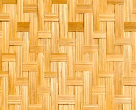 bamboo weaving pattern which is a thai traditional basket pattern photo