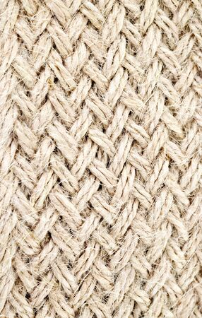 brown twine that weaving as braid Stock Photo - 10097538