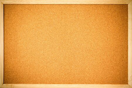 brown cork: blank cork board