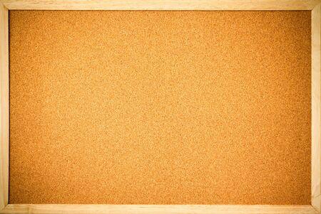 cork: Junta de corcho en blanco
