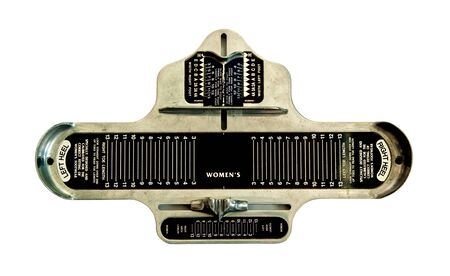 foot measurement tool that use for checking the size of foot