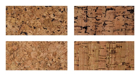 cork design sheet in brown and gold color