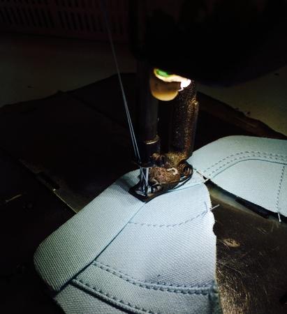 stitch: Stitching footwear component part