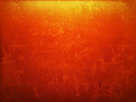 gradually: Orange color gradually