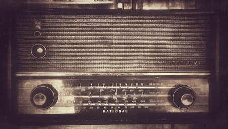 transistor: Estilo retro transistor de radio