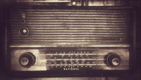 style: Retro style radio transistor