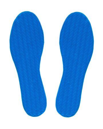 sole of shoe: rubber sole shoe design as herringbone Stock Photo