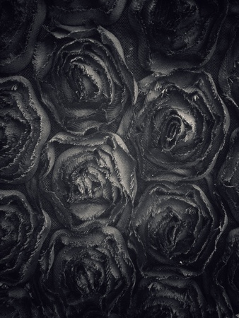 Fabric design as roses pattern